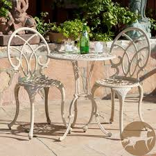 Small Outdoor Bistro Table Fancy Small Outdoor Bistro Table With Stunning White Outdoor