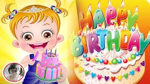 baby birthday party dora explorer game movies baby hazel