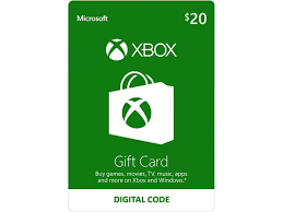 emailable gift cards xbox gift card 20 us email delivery newegg