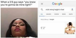 Nicki Minaj Meme - dopl3r com memes when a 56 guy says you know youre gonna be mine