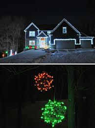 christmas outside lights decorating ideas top 46 outdoor christmas lighting ideas illuminate the holiday