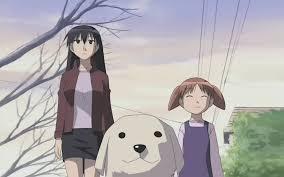 chiyo fanon wiki fandom powered by wikia image azumanga daioh dogs anime sakaki tadakichi mihama chiyo