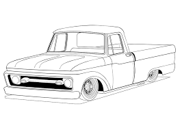 truck coloring pages getcoloringpages