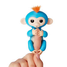 toy finger rings images Fingerlings interactive baby monkey finn black with blue hair jpeg