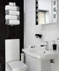 Black And White Bathroom Decor Ideas Best  Black Bathroom Decor - Bathroom designs black and white