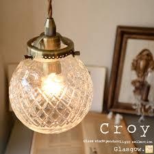 vintage glass pendant light antique glass pendant light markdoyle rakuten global market 1 light