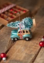 easy diy ornament vintage car tree