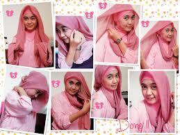 tutorial hijab pesta 2 kerudung tutorial menggunakan model kerudung terbaru tutorial hijab terbaru