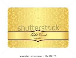 luxury golden card inscribed vintage pattern stock vector
