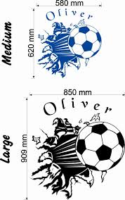 football wall stickers u0026 decals wall stickers u0026 decals