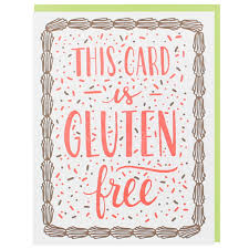 free birthday card gluten free birthday card happy birthday cards smudge ink