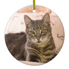 tabby cat ornaments keepsake ornaments zazzle