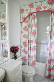 shower curtains with valance and tiebacks curtain tie back home design ideas 13