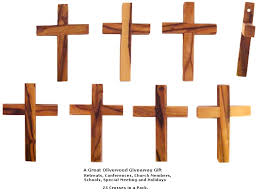 pocket crosses 500 olive wood pocket cross bulk jerusalem gifts