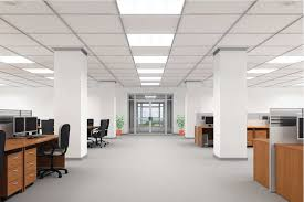 led lights office interior design