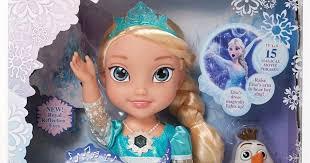 frozen u0027s elsa dolls christmas list u0027s