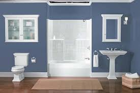 blue and beige bathroom bathroom flooring green colored shower blue walls small bathroom