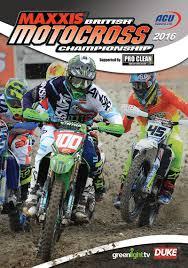 ama motocross championship british motocross championship 2016 review dvd duke video