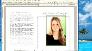 free sle funeral programs templates 100 memorial program ideas thank you card sle thank you