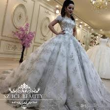 princess wedding dresses with bling luxurious bling lace wedding dresses plus size princess gowns