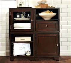 2 Door Floor Cabinet Bathroom Floor Cabinet Black Airpodstrap Co
