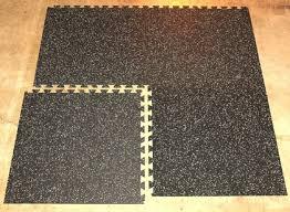 types of interlocking rubber floor tiles