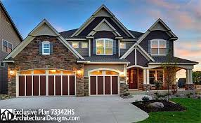 craftsman style house plans two story plan 73342hs craftsman with 2 story great room craftsman