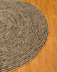 Round Woven Rugs Rosana Cotton Hemp Round Rug Natural Home Rugs Natural Home Rugs