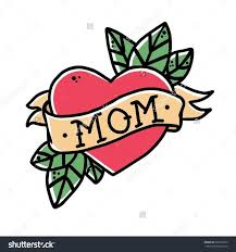 39 best mom heart tattoo designs and skull images on pinterest