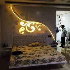 bed back wall design bedroom back wall panel at rs 1000 square feet sector 10