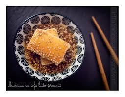 cuisiner le tofu ferme tofu mariné grillé sauce teriyaki et sésame
