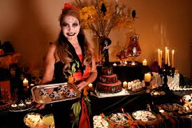halloween party decorating ideas scary