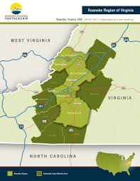 Virginia Regions Map by Downloads Roanoke Regional Partnership