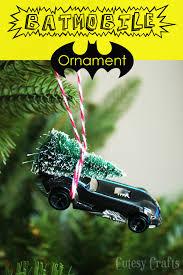 diy batmobile ornament cutesy crafts