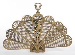 a victorian brass fireplace screen 09 06 14 sold 126 5