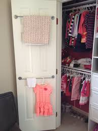 chaos ordered double decker closet door storage bars chaos ordered