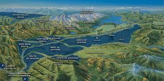 Jackson Hole Map Area Map Matt Varsha Realty