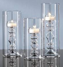 Home Interiors Candle Holders Glass Tealight Candle Holders In The Shape Of Candlesticks
