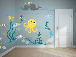 wall kids room wallpaper ideas keep creativity flowing about