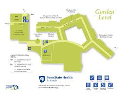 Penn State Campus Map by Campus Maps U2013 Penn State Health St Joseph