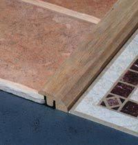 how to floor transition strips between two uneven floors