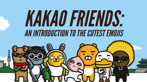 friends emoji kakao friends an introduction to the cutest emojis monica heilman