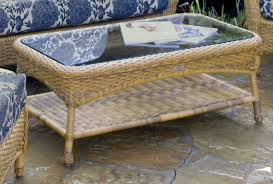 sea pines outdoor wicker coffee table tortuga outdoor