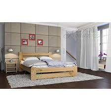 chambre en pin nodax lit en pin massif meubles de chambre à coucher lit king size 1
