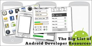 templates wireframes stencils and icons the big list of android
