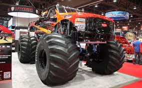monster truck show chicago bigfoot goes electric with odyssey batteries truck trend news