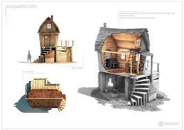 cabin design blacksmith cabin design sheet two by capital g on deviantart