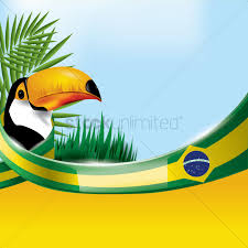 Blank Brazil Flag Brazil Flag With Toco Toucan Vector Image 1597178 Stockunlimited