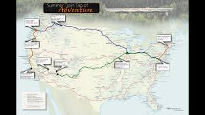 Amtrak Map East Coast Epic Amtrak Train Cross Country Lap Around America With The Family