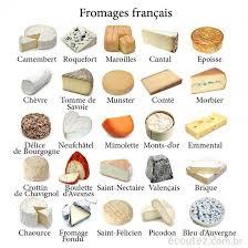 quelques fromages français garder une petite place pour
